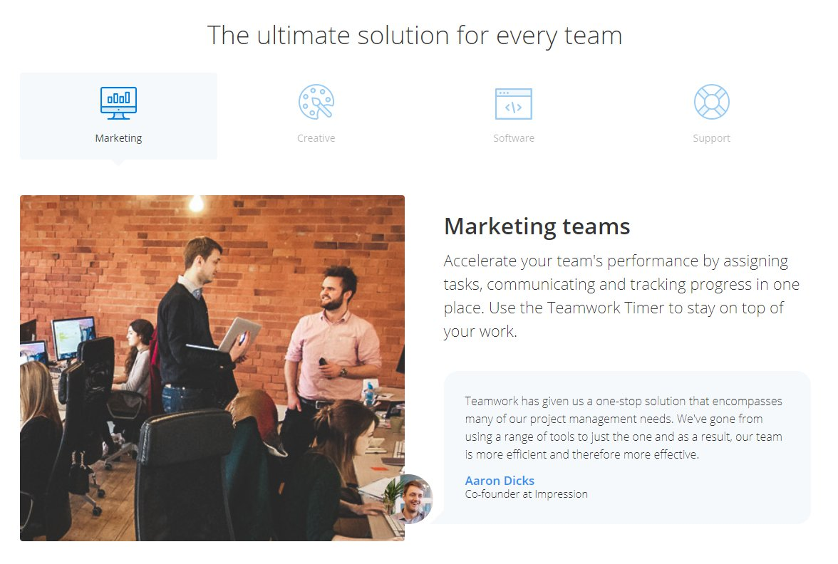 Teamwork Project Management Software