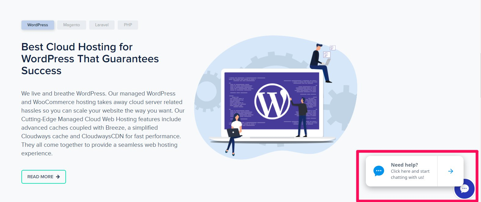 Performance based wordpress hosting