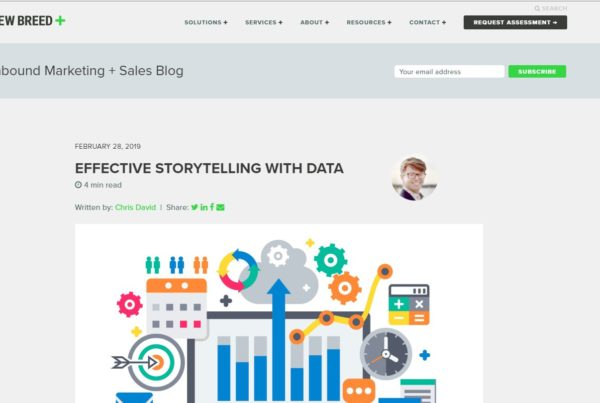 Effective Storytelling with Data