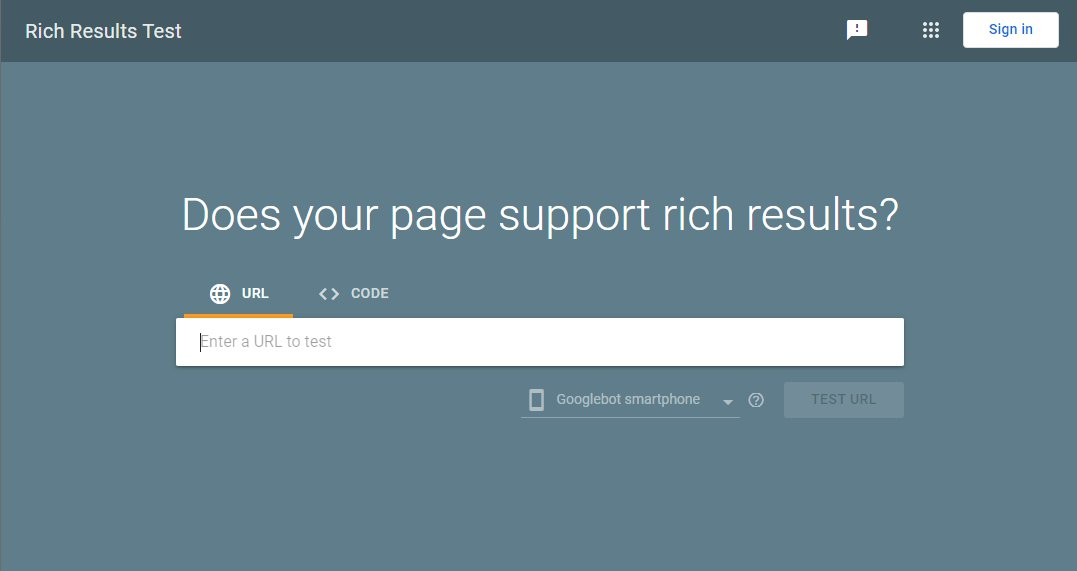 Auditing your website for Rich Snippets and Schema Markup using the Google rich Result Test